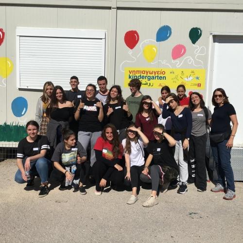 Το 6ο μας νηπιαγωγείο στο Κέντρο Προσφύγων Ελευσίνας!
