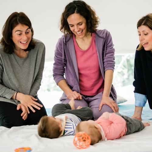 CHILD' SPACE: Πρόγραμμα κίνησης & ανάπτυξης για βρέφη & γονείς